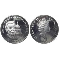 50 dollars, 1990. 1oz