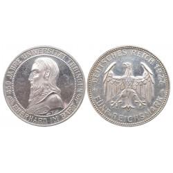 5 mark, 1927. F