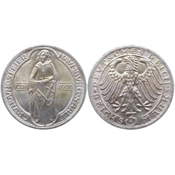 3 mark, 1928. 900th Anniversary of Naumburg