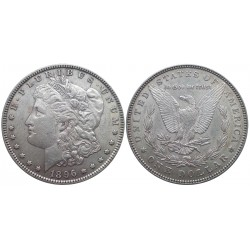 1 dollar, 1896. Morgan dollar
