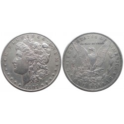 1 dollar, 1897. Morgan dollar