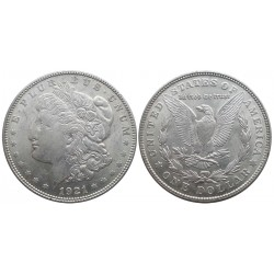 1 dollar, 1921. Morgan dollar