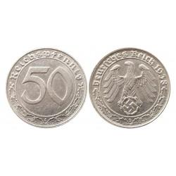 50 reichspfennig, 1938 B