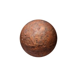 Cannonball, iron