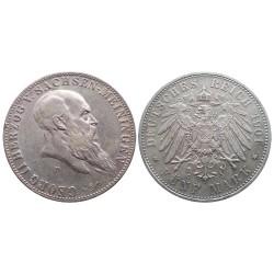 5 mark, 1901. George II