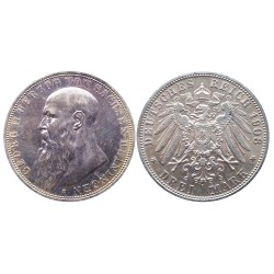 3 Mark, 1908. Georg II