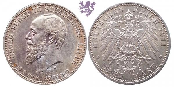 3 mark, 1911. Georg Furst