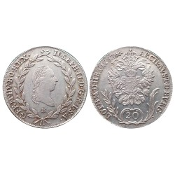 20 krajcra, 1783. Joseph II