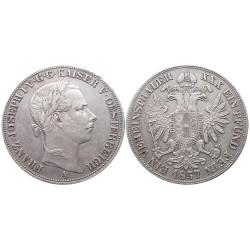1 vereinsthaler, 1857. Franz Joseph I