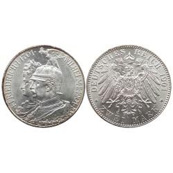 2 mark, 1901. Friedrich I Wilhelm II 1701 - 1901