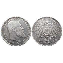 5 mark, 1903. Wilhelm II