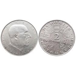 2 schilling, 1933. Ignaz Seipel