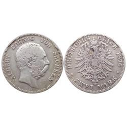 2 mark, 1876. Albert Koenig