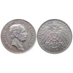 2 mark, 1905. Friedrich August Konig