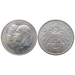 2 mark, 1904. Friedrich&Alexandra