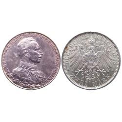 2 mark, 1913. Wilhelm II