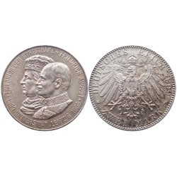2 mark, 1909. Friedrich August
