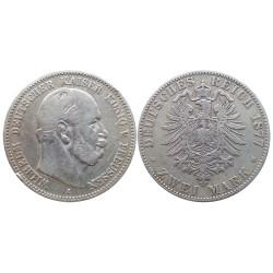 2 mark, 1877. Wilhelm I