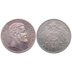 2 mark, 1892. Heinrich XXII