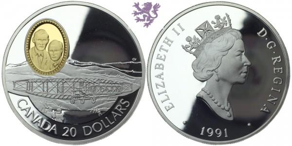 20 dollars, 1991. Canada