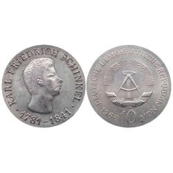 10 mark, 1966. Karl Friedrich