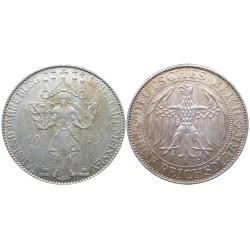 5 mark, 1929. 1000 jahre Meissen