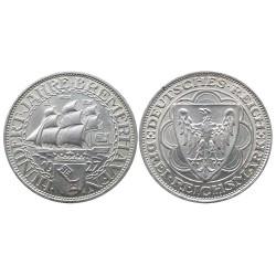 3 Reichsmark, 1927. Bremerhaven