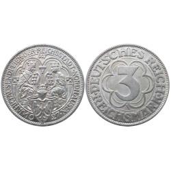 3 Reichsmark, 1927. Nordhausen