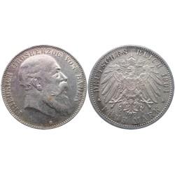 5 mark, 1904. Friedrich Grosherzog Von Baden