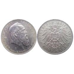 5 mark, 1911. Luitpold von Bayern