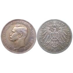 5 mark, 1899. Ernst Ludwig Grosherzog