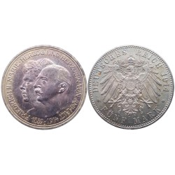 5 mark, 1914. Friedrich II&Marie
