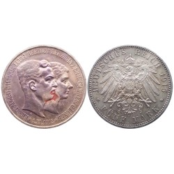 5 mark, 1915. Ernst I&Luise