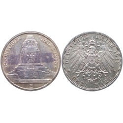 3 mark, 1913. Friedrich August III 18 oktober 1813 - 1913.