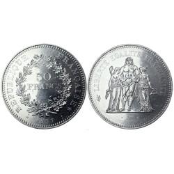 50 francs, 1977.