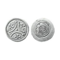 Denar, 1116-1131. Stephen II