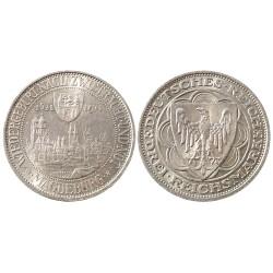 3 reichsmark, 1931. Magdeburg