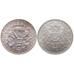 2 mark, 1904. Bremen