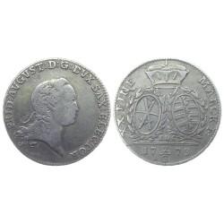 2/3 Thaler, 1773. Friedrich August