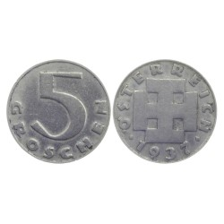 5 groschen, 1937. R