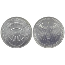 5 mark, 1973. Frankfurter Nationalversammlung