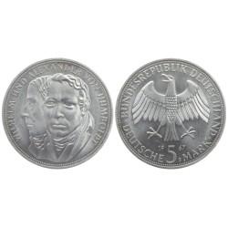 5 mark, 1967. Wilhelm and Alexander