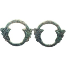 Bronze Ouroboros Celtic ring-money