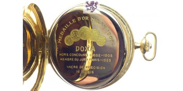 Doxa gold watch
