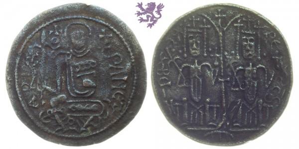 Copper coin Bella III 1172 - 1196