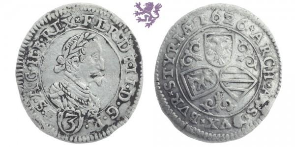 3 Kreuzer, 1626. Ferdinand II