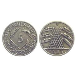 5 Reichspfennig, 1925.