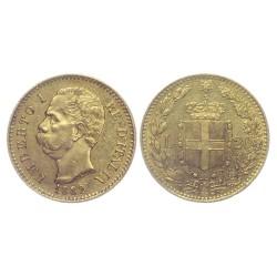 20 Lire, 1882. Umberto I