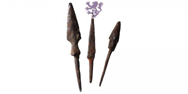 Arrowheads lot 3pcs.