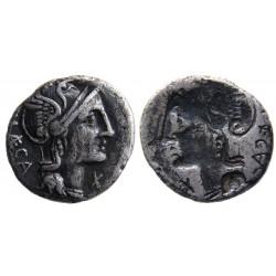 P Porcius Laeca AR denarius